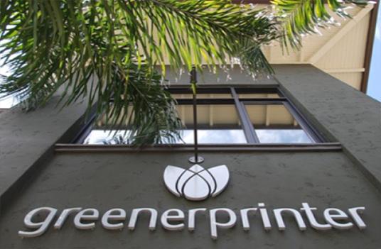 greener printer